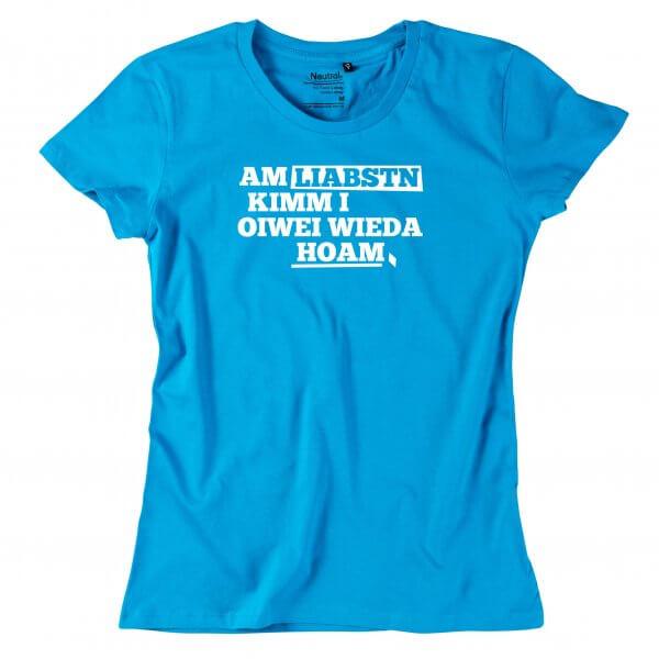 """Damen-Shirt """"Am Liabstn"""""""