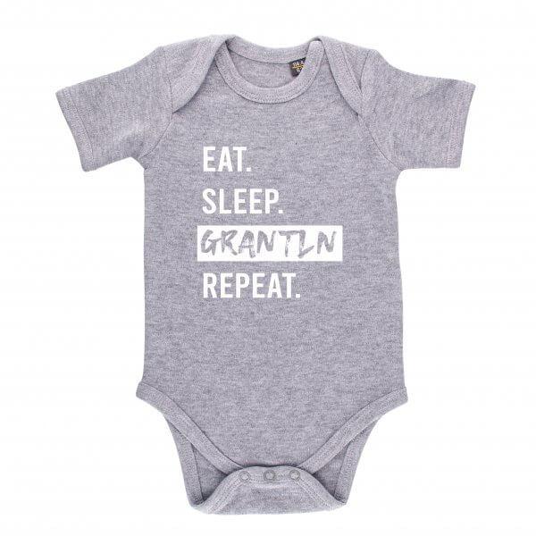 "Baby Body ""Eat. Sleep. Grantln. Repeat."""