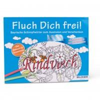 Rindviech - Bayerische Schimpfwörter zum Ausmalen