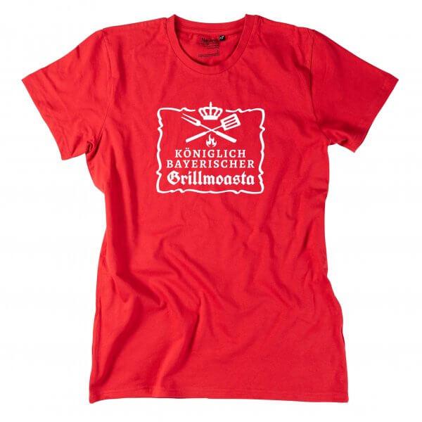 """Herren-Shirt """"Königlich bayerischer Grillmoasta"""""""