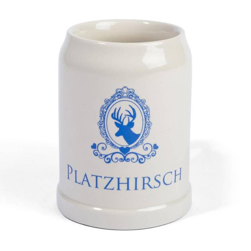steinkrug platzhirsch bayern souvenirs online kaufen. Black Bedroom Furniture Sets. Home Design Ideas