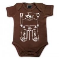 Baby Body 'Mei erste Lederhosn' - Größe: 68 (6 - 12 Monate)