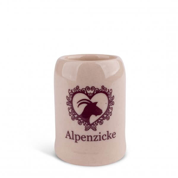 "Schnapskrügerl ""Alpenzicke"""