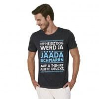 Herren-Shirt 'Heidz'Dog' - Größe XXL