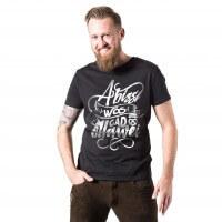 Herren-Shirt 'A bissl wos gäd ollawei' - Größe XXXL