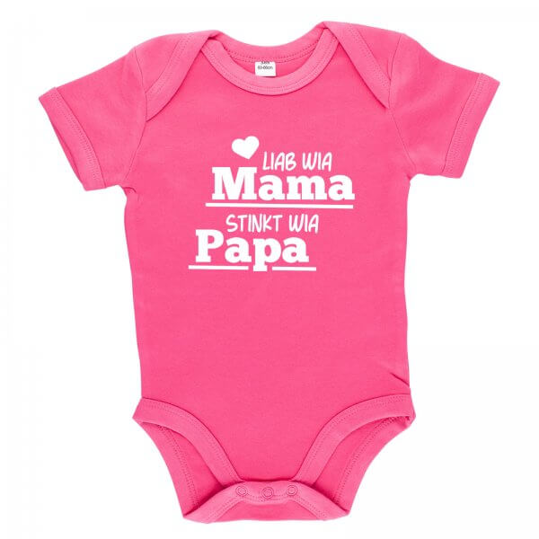"""Baby Body """"Stinkt wia Papa"""""""