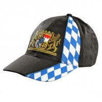 Bayern Cap mit Wappen