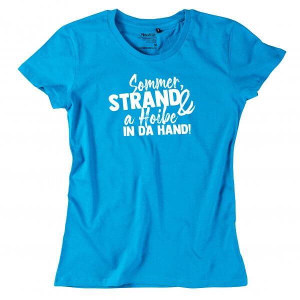 """Damen-Shirt """"Sommer & Strand"""""""