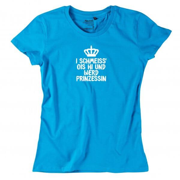 "Damen-Shirt ""Prinzessin"""