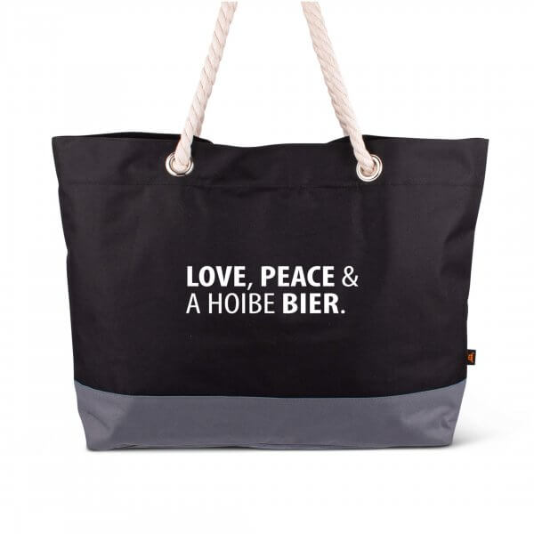 "Strandtasche ""Love & Peace"""