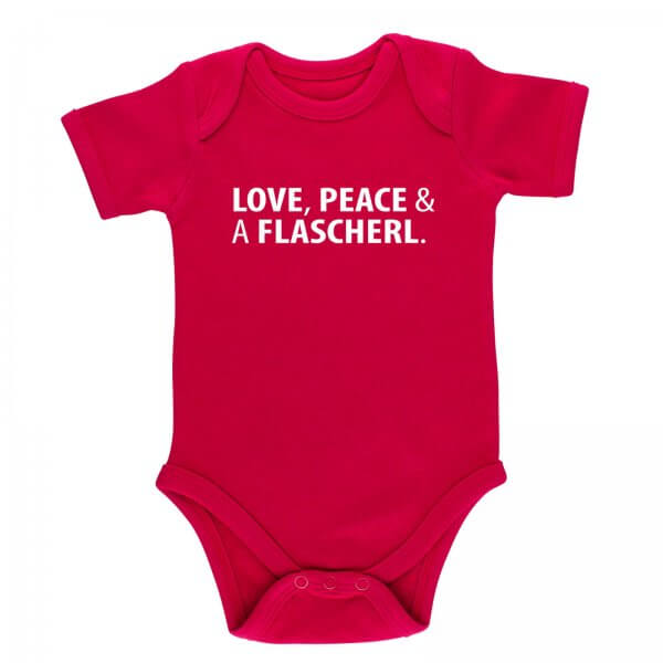"""Baby Body """"Love, Peace & A Flascherl"""""""