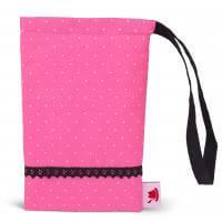 Handydaschal pink-schwarz