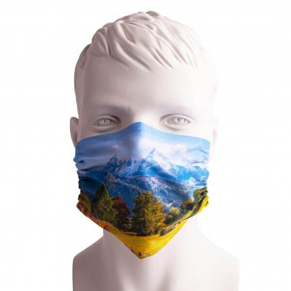 """Bayrische Mund-Nasen-Maske """"Panorama"""""""