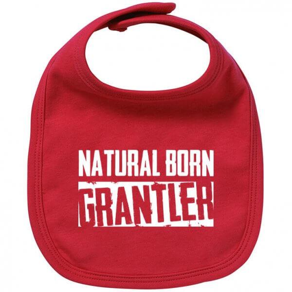 "Babylätzchen ""Natural Born Grantler"""