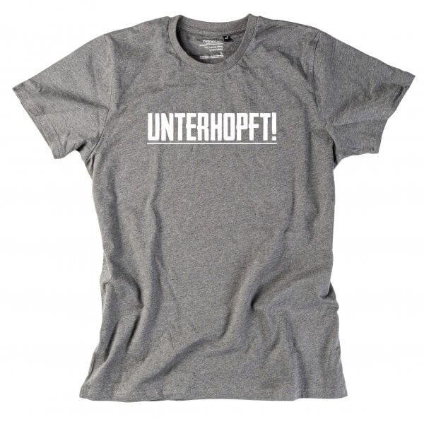 "Herren-Shirt ""Unterhopft"""