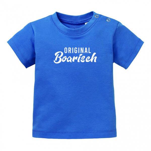 "Baby T-Shirt ""Original boarisch"""