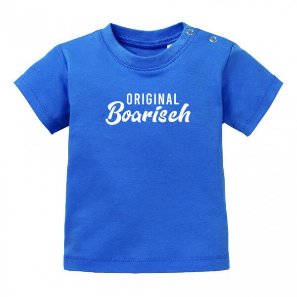 "Baby T-Shirt ""Original boarisch"""