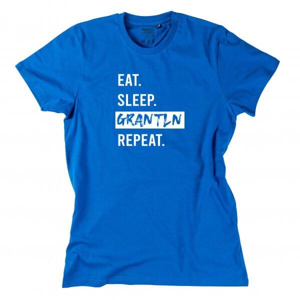 "Herren-Shirt ""Eat. Sleep. Grantln. Repeat."""