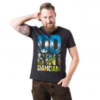 """Herren-Shirt """"Do bin i dahoam"""""""