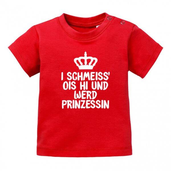 """Baby T-Shirt """"Prinzessin"""""""