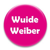 Nadel-Button 'Wuide Weiber'