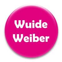 Nadel-Button 'Wuide Weiber'