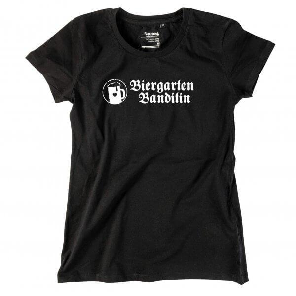 """Damen-Shirt """"Biergarten Banditin"""""""