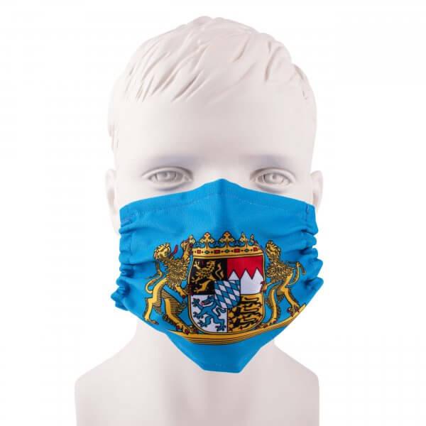 """Bayrische Mund-Nasen-Maske """"Wappen"""""""