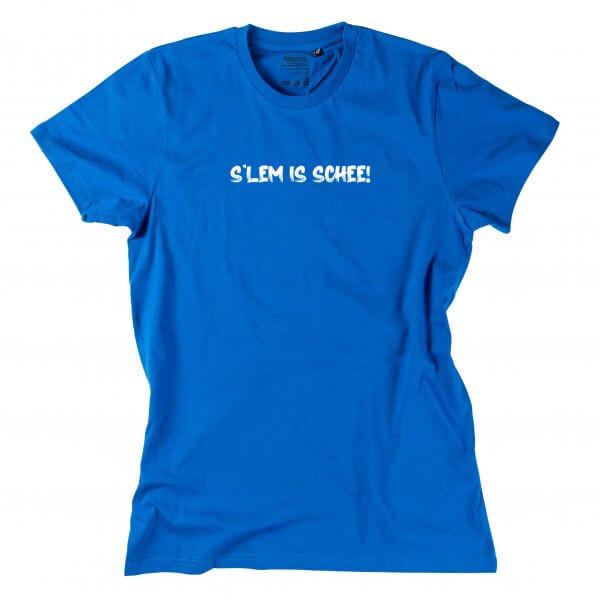 """Herren-Shirt """"s'Lem is schee!"""""""