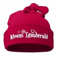 "Babymütze ""Kloans Lausderndl"" sorbet"