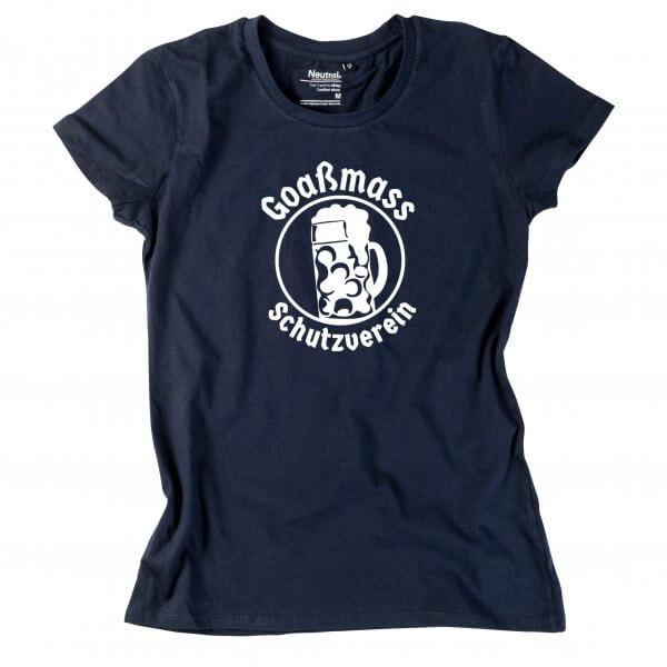 """Damen-Shirt """"Goaßmass Schutzverein"""""""