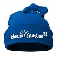 "Babymütze ""Kloana Lausbua"" blau"