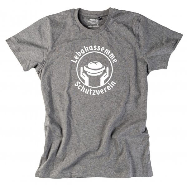 "Herren-Shirt ""Leberkassemme Schutzverein"""