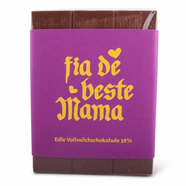 "Schokolade ""Fia die beste Mama"""