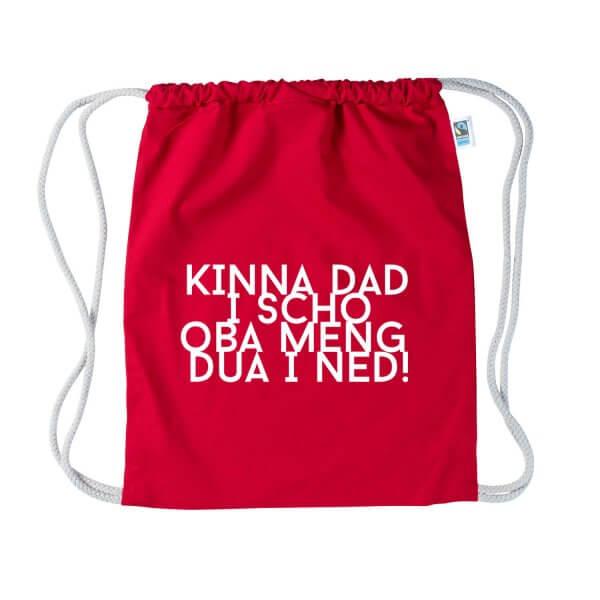 "Turnbeutel ""Kinna dad i scho"""