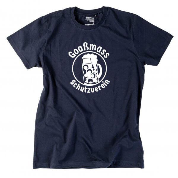 """Herren-Shirt """"Goaßmass Schutzverein"""""""