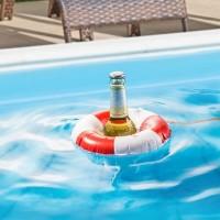 Bierflaschen-Rettungsring
