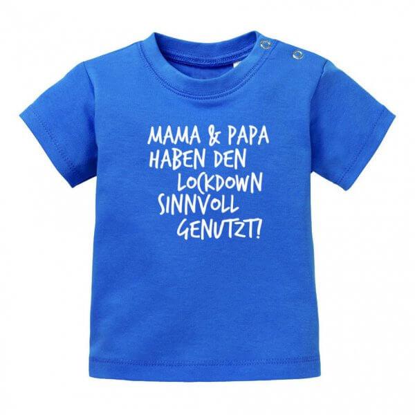 """Baby T-Shirt """"Lockdown"""""""