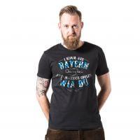 Herren-Shirt 'I kimm aus Bayern ...' - XXXL