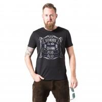 Herren-Shirt 'Scheiss da Nix' - Größe XXXL
