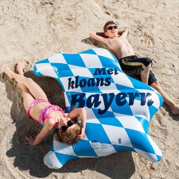 Luftmatratze 'Mei kloans Bayern'