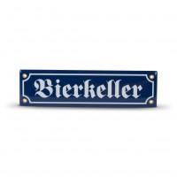 Emaille-Schild 'Bierkeller'