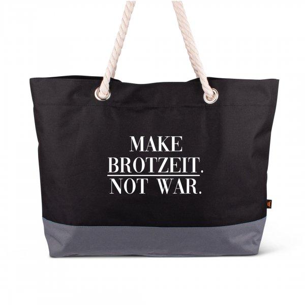 """Strandtasche """"Make Brotzeit"""""""