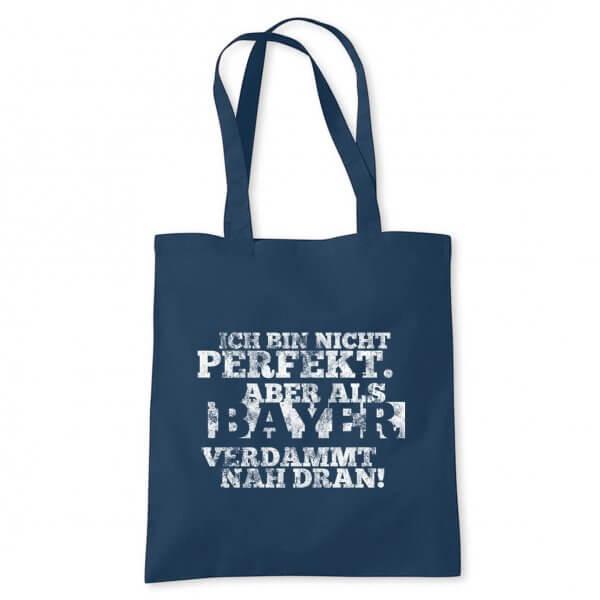 """Tasche """"Ich bin nicht perfekt ..."""""""