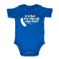 "Baby Body ""In da Noud"" blau"