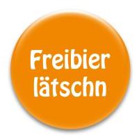 Nadel-Button 'Freibierlätschn'