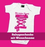 Baby Bodys mit Wunschname