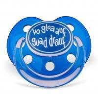 """Dizzl """"Vo gloa auf guad drauf"""" blau"""