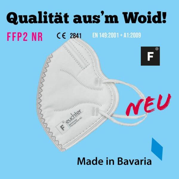FFP2-Maske (Hergestellt in Bayern!)