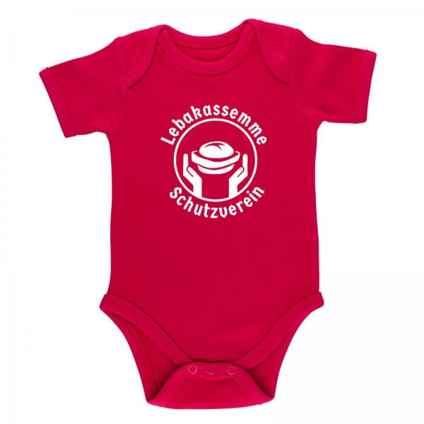 """Baby Body """"Leberkas-Semme-Schutzverein"""""""